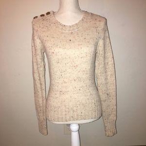 Anthro Charlie & Robin Button Berm Sweater Size XS